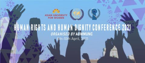 AUW Model United Nations Club presents Human Rights and Human Dignity Conference 2021