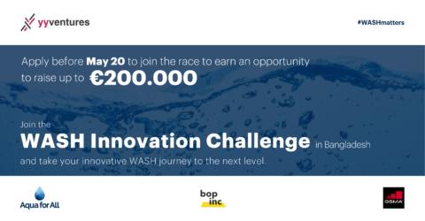 YY Ventures Presents WASH Innovation Challenge 2021