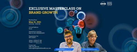 Bangladesh Brand Forum Presents Exclusive Masterclass on Brand Growth 2021