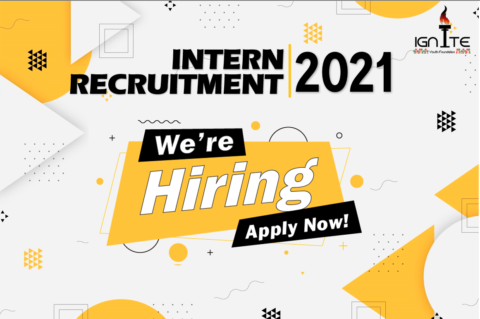 Ignite Youth Foundation is looking for interns 2021.