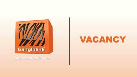 Banglalink is hiring Core Service Specialist Engineer 2021 in Dhaka