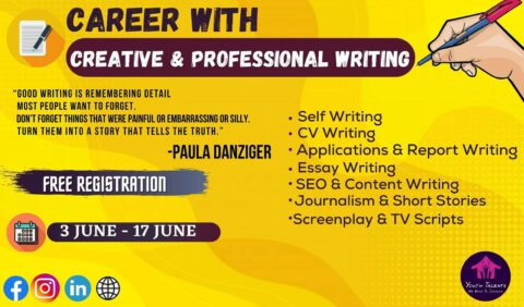 Youth Talents presents Career with Creative and Professional Writing 2021