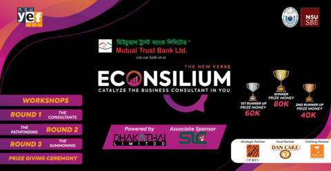 North South University Young Economists' Forum Presents The New Verse of Econsilium 2021