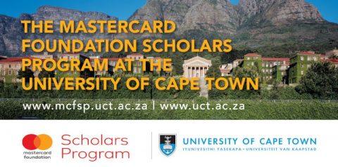 منح مؤسسة Mastercard وجامعة كيب تاون للدراسة في جنوب أفريقيا
