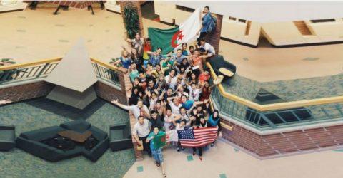فرصة التدريب للطلاب في السفارة الأمريكية في الجزائر