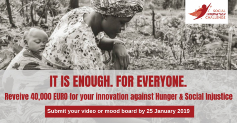 تحدي الابتكار الاجتماعي: القضاء على الجوع والعدالة الاجتماعية 2019