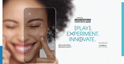 مسابقة L'oreal BRANDSTORM في باريس 2019