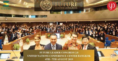 مؤتمر قادة المستقبل في الأمم المتحدة، تايلاند 2019