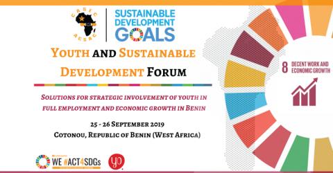 منتدى الشباب والتنمية المستدامة في بنين 2019